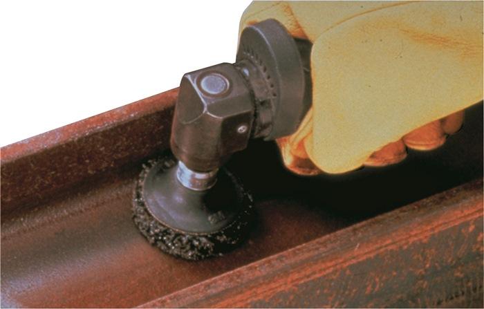 Nylonschuurschijf CR-DR Roloc d.76,2mm 2mm grof 3M