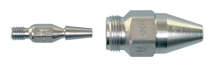Snijbrandermondstuk AC 3-10mm acetyleen verchroomd GCE