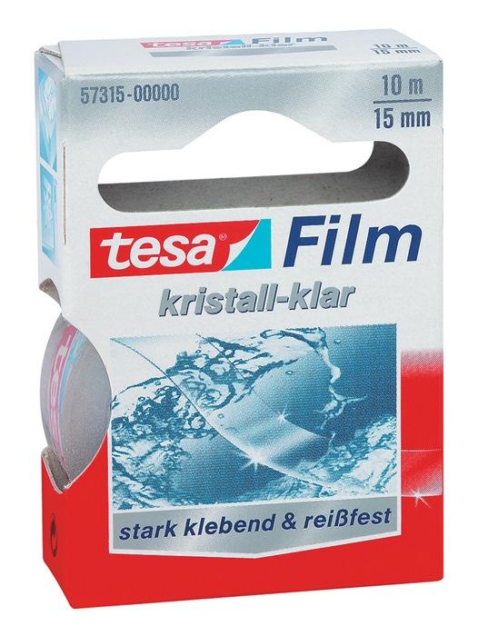 Tesafilm tesafilm® 57315 lengte 10m B. 15mm kleurloos PP-folie TESA