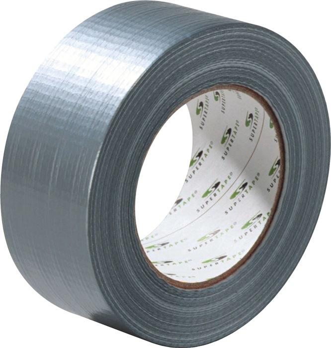 Plakband Superduct ST311 lengte 50m B. 48mm zilvergrijs 24 st./doos SUPERTAPE