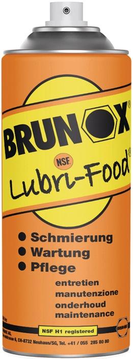Multi-Spray Lubri-Food Brunox NSF H1 400ml spuitbus BRUNOX