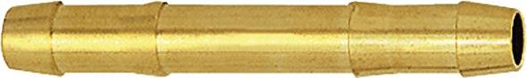 Dubbele slangmof slangwijdte 13mm messing EWO