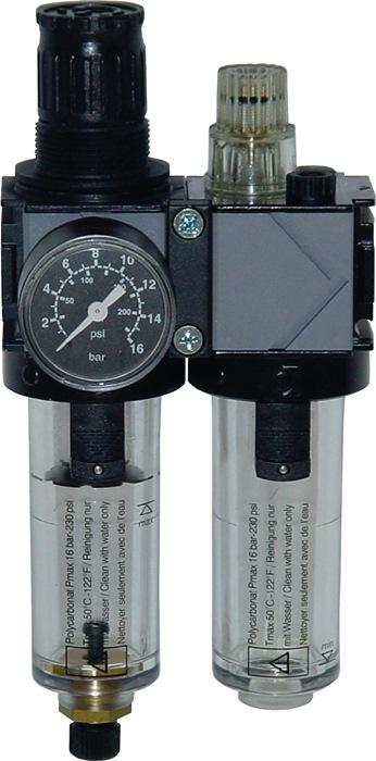 Onderhoudsunit variobloc 2dlg. 5000Nl/min EWO 0,5-10 bar 0,5-10bar EWO
