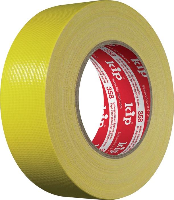 Beton-/metselband KIP 358-44 44mm x 50m geel rol KIP