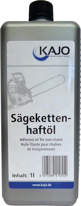 Zaagketting-hechtolie inh. 1l verhindert afdruipen en losraken ku.fles KAJO