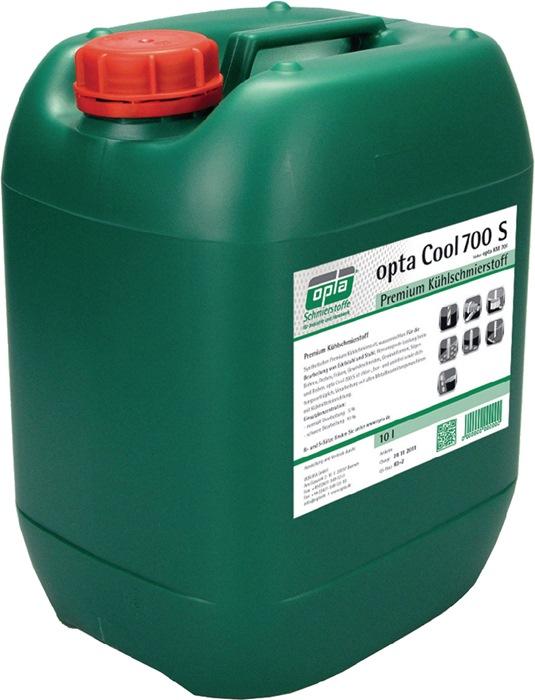 Koelsmeerstof Cool 700S/KM701 inhoud 10l bacteriënstabiel vloeistofvat OPTA