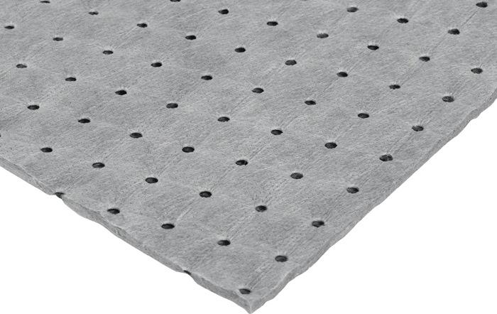 Univ. binddkj -chemicaliën 40 x 50 cm grijs 1 cm dik Doos (4x25 dkj)