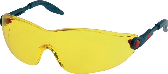 veilbr Beugel blauw/rood, PC-glazen geel getint AS AF UV PC geel Instelb poten