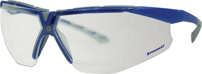 veilbr Daylight Flex PC-glas helder beugel grijs/donkerblauw ind.inst. glashoek