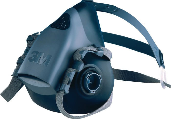 Halfmasker adembescherming 7502 mt.M Levering zonder filter 1st./VE 3M