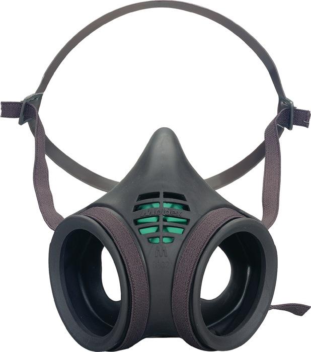 Halfmasker EN140:1998 grootte m zonder filter en houder 1st./VE MOLDEX