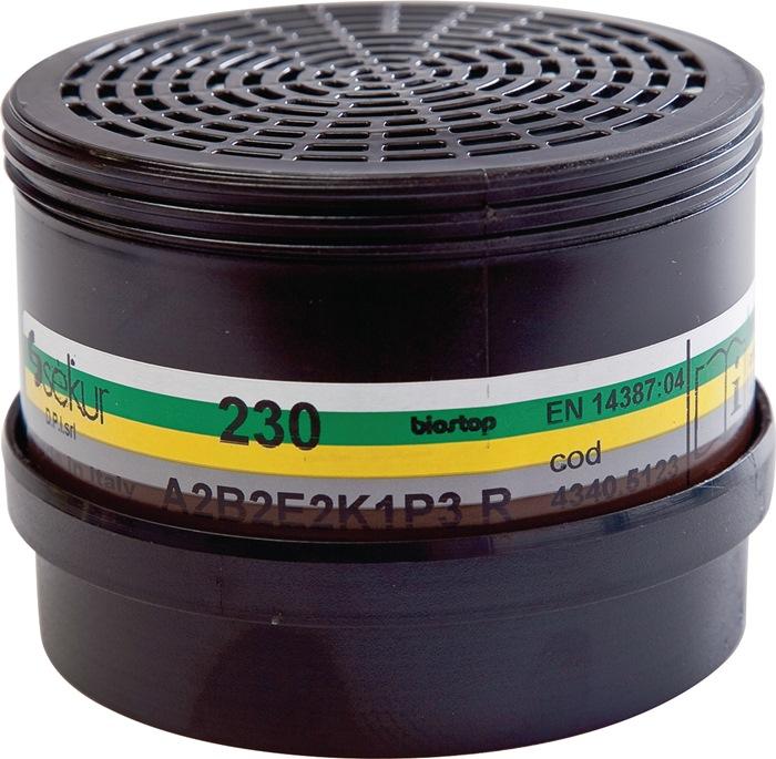 Filter 230 A2 B2 E2 K1-P3RD tgn org gas/damp A2B2E2K1-P3RD m.BIOSTOP 2st./zak