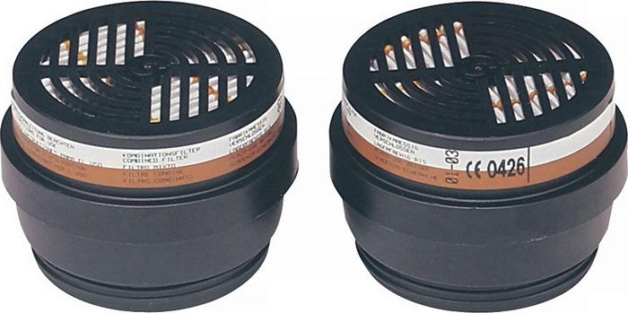 Combinatiefilter 200 A1-P3R D beschermt tgn org. gas/damp m.BIOSTOP 2 st./VE