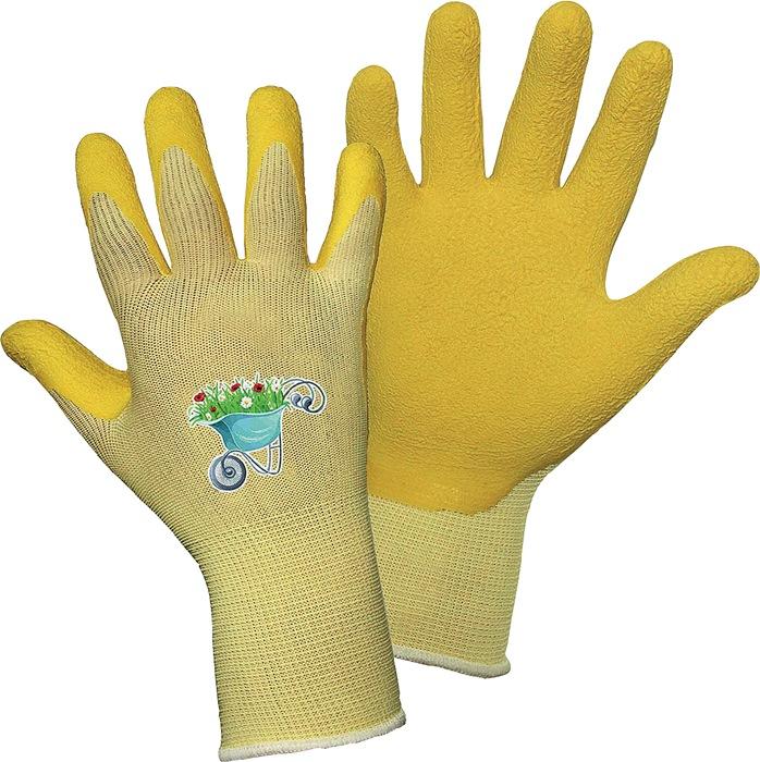Latex kinderhandschoenen TOM MIDI mt. 6 geel geen certificering 1 paar griffy