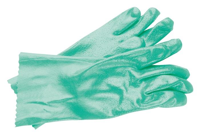 Handschoen EN388/374/407 cat.III Sol-Knit 39-122 mt.9 katoen m.nitril groen
