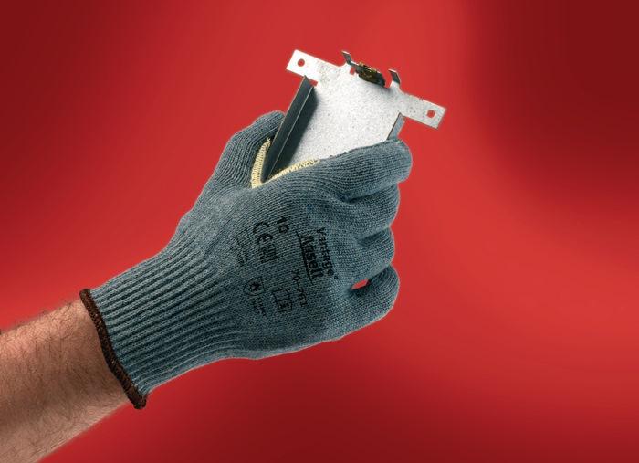 Handschoenen EN388/407 cat.II Vantage 70-761 mt.10 nylon/acryl/Kevlar grijsgroen