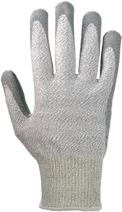 Handschoen Waredex Work 550 mt.8 snijbescherming 5 KCL wasbaar