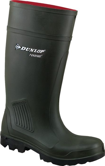 PU-laars Purofort Professional S5 CI mt.42 donkergroen Dunlop 100% waterdicht