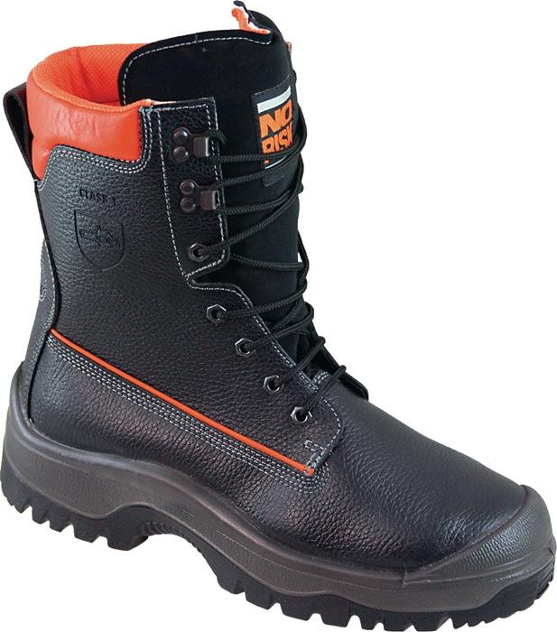 Veiligheidslaars bosbouw EN20345 S3/17249:2004 KL 1 NO RISK mt.41 zwart/oranje