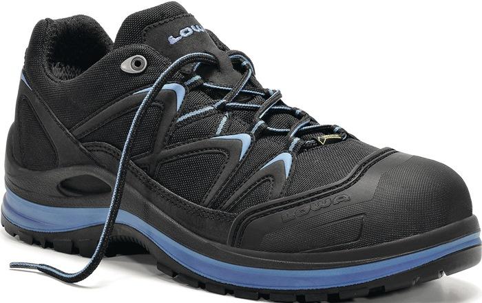 Veiligheidsschoen LOWA INNOXWORK GTX blue Lo ENISO20345 S3 mt.41 nubuck/Cordura®