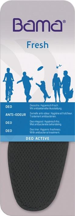 Inlegzool Deo Active mt.43 Deo-zool hygiën. fris tegen voetengeur BAMA