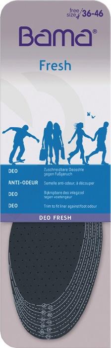 Inlegzool Deo Fresh universele afm teg.voetengeur om uit te knippen v.alle maten