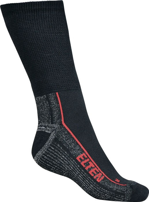 Sokken Elten Perfect Fit-Socks zwart/grijs mt.35-38 met Coolmax®