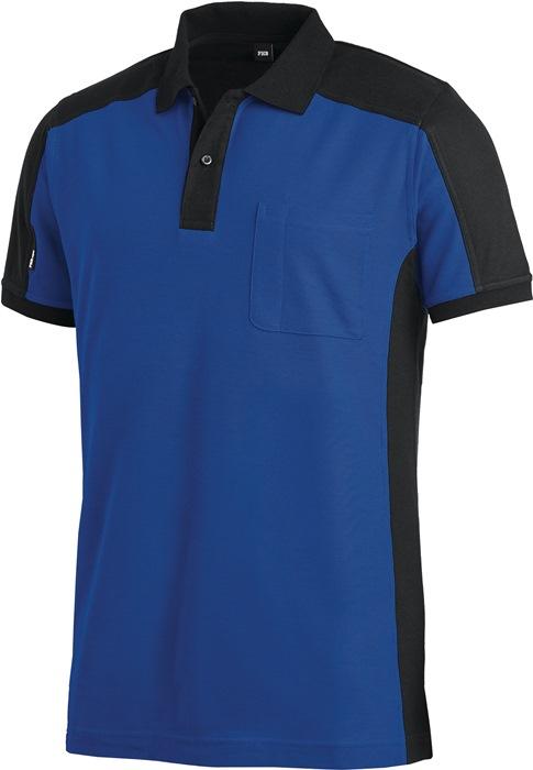 Poloshirt Konrad Kledingmaat L royal/zwart FHB