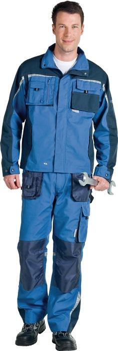 NOW jas met taille mt.48 oceaanblauw/marine 65%PES/35% BW