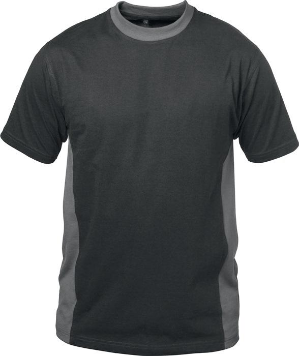 T-shirt Madrid mt.L zwart/grijs 100% katoen 1 stuk ELYSEE