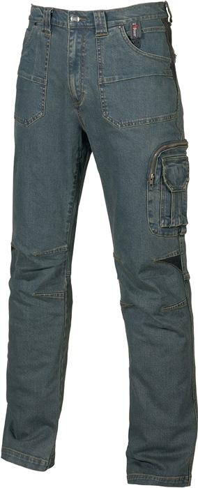 Jeans Traffic EN340-1 mt.48 blauw 70%PES 27%katoen 3%EL