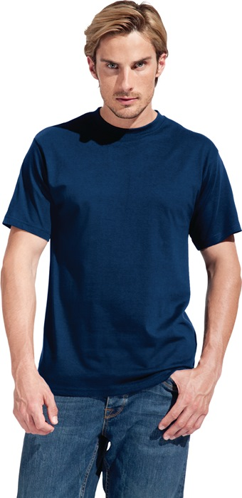 Men´s Premium-T-shirt mt.M steel grey 100% katoen, 180g/m 1 stuk PROMODORO