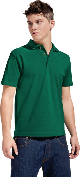 Men´s Heavy Polo mt.XL royal 100% katoen, 220g/m