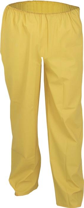 Regenbroek m.tailleband EN343 klasse 2 mt.S geel winddicht waterdicht PREVENT