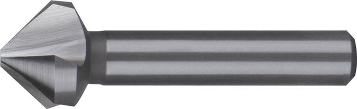 Conische ontbraam- en verzinkboor DIN335-C 90 graden d.10mm HSS 3sneden RUKO