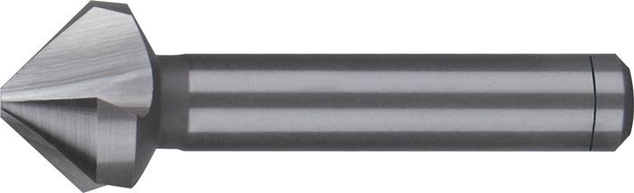 Conische ontbraam- en verzinkboor DIN335-C 90 graden d.6mm HSS-Co5 3sneden RUKO