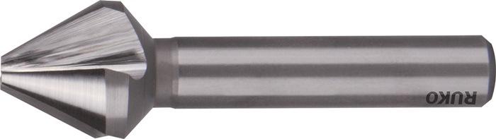 Conische ontbraam- en verzinkboor DIN334-C 60graden d.16mm HSS 3sneden RUKO