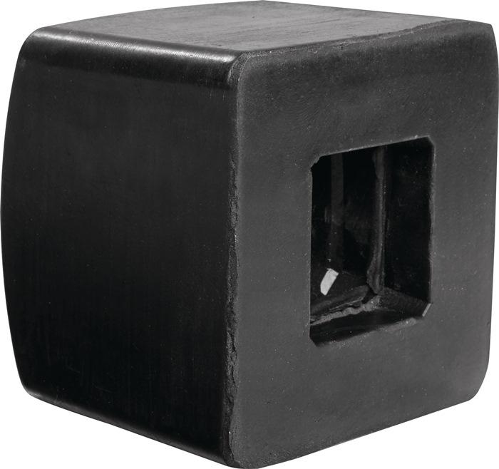 Rubberdop voor vuisthamer 1.500 g 70 x 70mm voor vuisthamer
