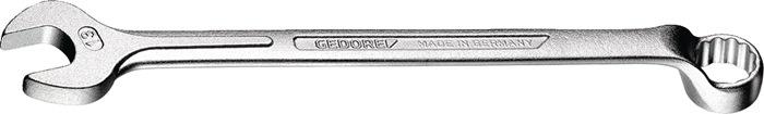 Ring-steeksl. ISO3318 ISO7738 SW3/8 inch UD-prof. gebogen Cr.V. ISO3318 ISO7738