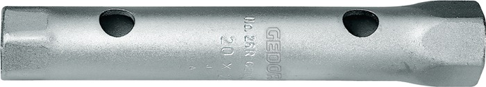 Dbb.dpsl. 26 R 27x32 DIN896 vo.B ISO2236 ISO1085 SW50x55mm 6kt. Cr.v.st C35ndls.