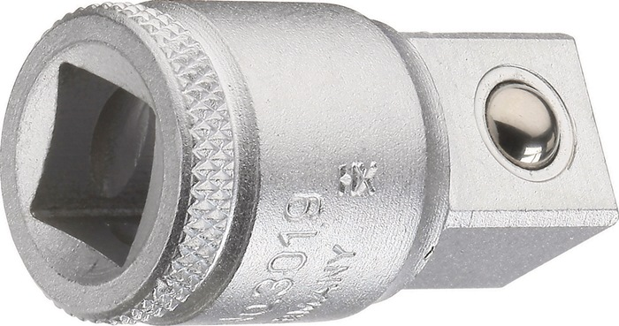 Verl.st.3019 DIN 3123, ISO 3316 3/8in. naar 1/2in. 35mm Cr-V-staal GEDORE