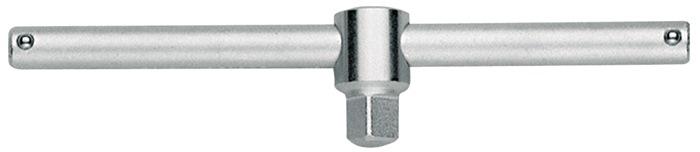 Dwarsgreep DIN3122 ISO3315 3/8 inch 163mm verchroomd chroom-vanadiumstaal GEDORE