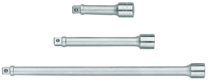 verlst 3090-3 DIN 3123, ISO 3316 3/8in. vierk L 76mm chr-vanadstaal