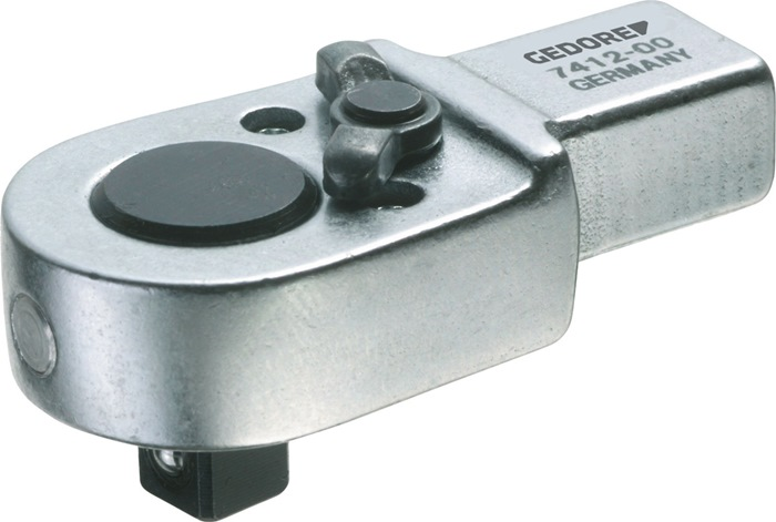 Insteekomzetratel 1/2inch SE 9x12 mat chroom chroom-vanadium GEDORE