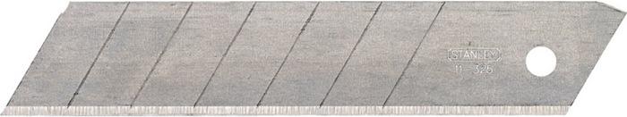 Afbreekmesjes 25mm rechte snede 7 afbreekbare segmenten Stanley