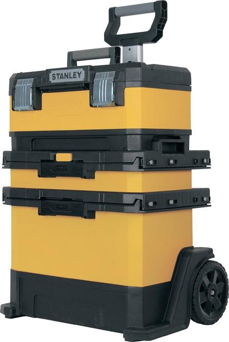 Rijd. werkpl.s FatMax B568xD389xH730mm comb. ku. meta. afneemb. gereedsch.box