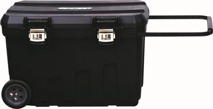 Montagebox B.770xD.490xH.480mm verrijdbaar, uittrekbare handgr in deksel