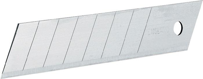 Afbreekmesjes 18mm 7 afbreekbare segmenten extra dik lemmet (0,63) Stanley