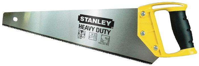 houtzaag OPP L.450mm 8 tanden/inch ergonomische greep van bi-materiaal Stanley