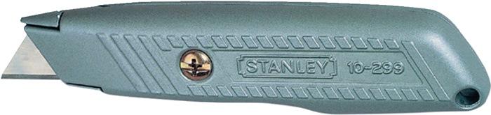 Mes 299 L.136 mm vaste kling robuuste behuizing van spuitgietzink Stanley